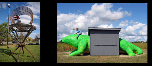 Franconia Sculpture Park - Attractions/Entertainment - 29788 Saint Croix Trl, Shafer, MN, United States
