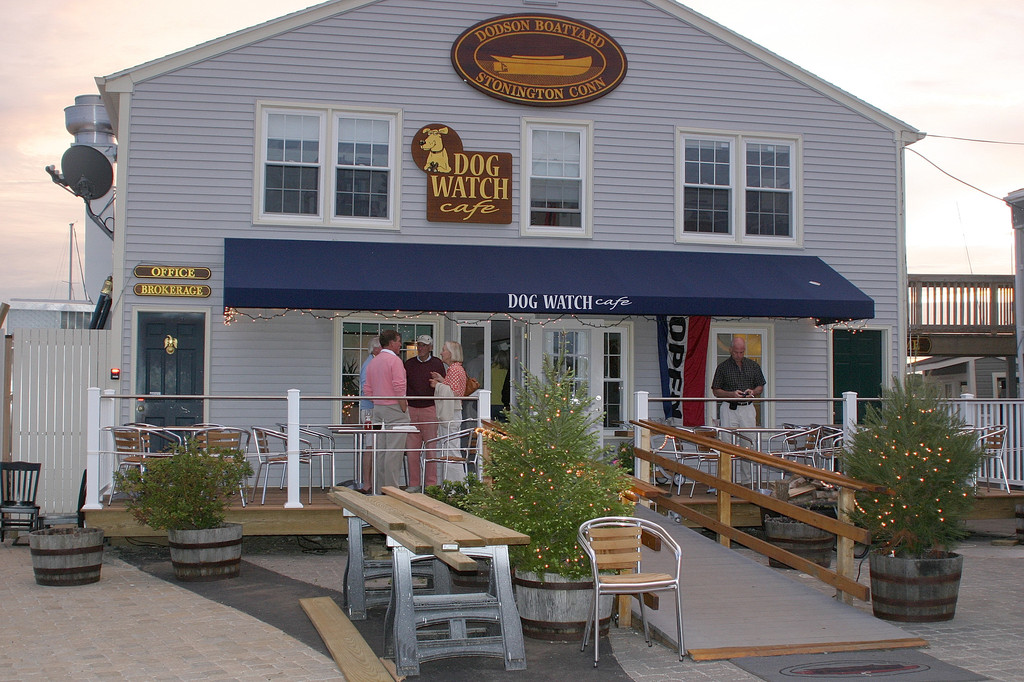 Dog Watch Cafe - Bars/Nightife, Restaurants - 194 Water St, Stonington, CT, 06378