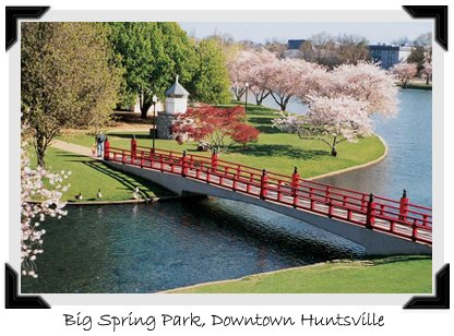 Big Spring Park - Attractions/Entertainment, Parks/Recreation - Huntsville, Alabama, United States