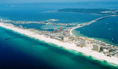Beaches Pensacola Fl Usa Wedding Mapper