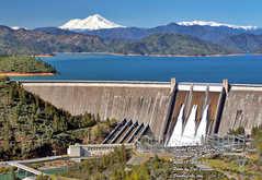 Shasta Dam - Attraction - Shasta Dam, Redding, California, US