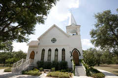 Salado United Methodist Chapel - Ceremony - 650 Royal St, Salado, TX, 76571