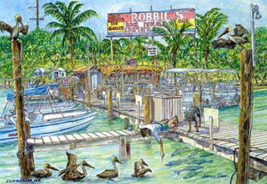 Robbie's Marina - Attractions/Entertainment, Restaurants - 77522 Overseas Hwy, Islamorada, FL, United States