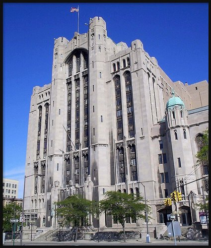 Masonic Temple Of Detroit - Reception Sites, Ceremony Sites, Attractions/Entertainment - 500 Temple St, Detroit, MI, 48201