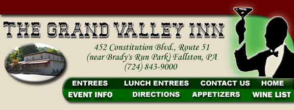 Grand Valley Inn - Restaurants - 452 Constitution Blvd, New Brighton, PA, United States