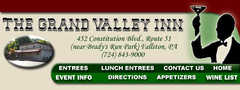 Grand Valley Inn - Restaurant - 452 Constitution Blvd, New Brighton, PA, United States
