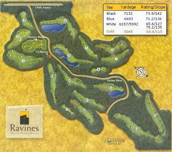 Ravines Golf Course - Golf Courses - 3520 Palmer Dr, Saugatuck, MI, United States
