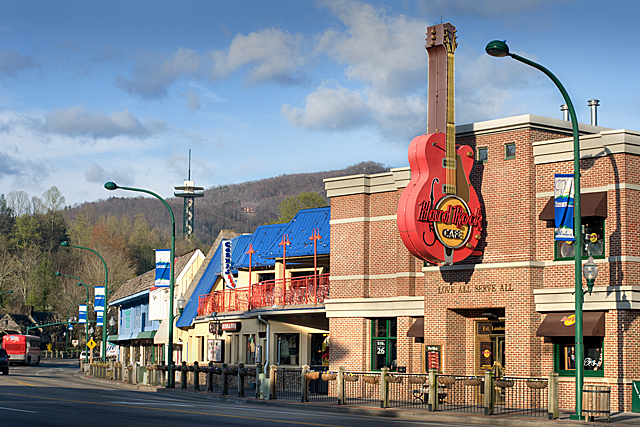 Hard Rock Cafe Gatlinburg - Restaurants, Ceremony Sites, Attractions/Entertainment - 515 Parkway, Gatlinburg, TN, 37738, US