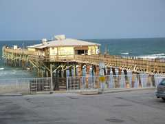 Sunglow Pier - Beach - 3701 S Atlantic Ave, Daytona Beach, FL, 32118