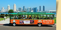 San Diego Trolley Tours - Attractions - 1107 Orange Ave, Coronado, CA, 92118, US