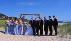 Elberta Beach - Ceremony -
