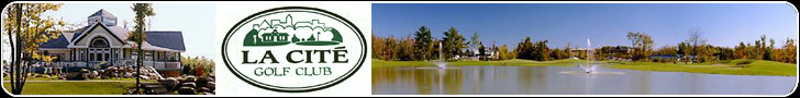 La Cite Golf Club - Ceremony Sites - 850 McGill St, Hawkesbury, ON, K6A