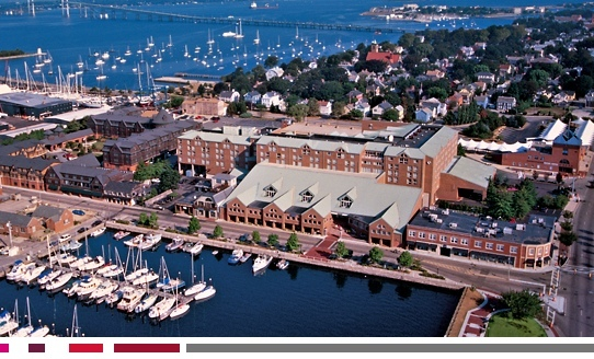 Newport Marriott Hotel  - Hotels/Accommodations, Ceremony &amp; Reception, Restaurants - 25 Americas Cup Avenue, Newport, RI, 02840, USA