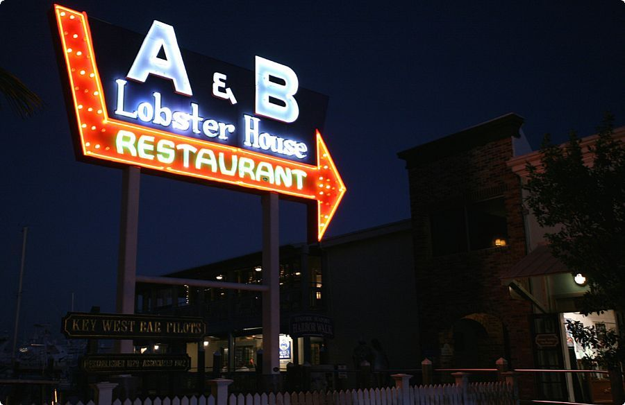 A & B Lobster House - Restaurants - 700 Front St # 101, Key West, FL, United States