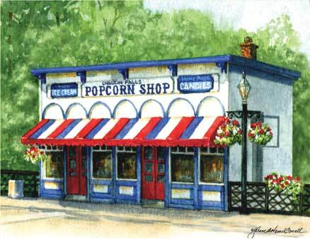 Chagrin Falls Popcorn Shop - Attractions/Entertainment, Restaurants - 53 N Main St, Chagrin Falls, OH, 44022, United States