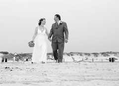 Beach wedding - Ceremony - 1419 S 11th St, Port Aransas, TX, 78373