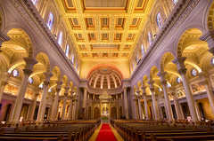 St. Ignatius Church San Francisco Wedding In December in Burlingame, CA, USA