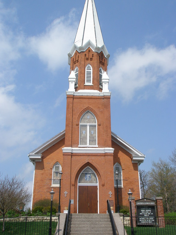 St. Matthew Lutheran Church - Ceremony Sites - 127 S High St, Galena, IL, 61036