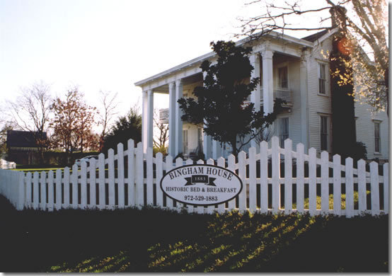 The Bingham House - Hotels/Accommodations, Ceremony Sites - 800 S Chestnut St, McKinney, TX, 75069