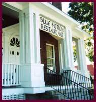 The Blue Heron - Reception Sites, Restaurants - 112 North Main Street, Sunderland, MA, 01375