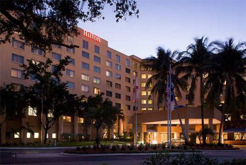 Hilton Fort Lauderdale Airport - Hotels/Accommodations - 1870 Griffin Road, Dania Beach, FL, United States