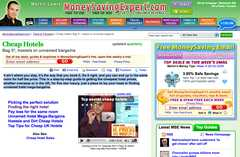 Money Saving Expert – Cheaper Hotels - Helpful Booking Website -