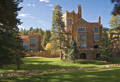 Glen Eyrie Castle - Attraction - Glen Eyie, Colorado Springs, CO, Colorado Springs, CO, US