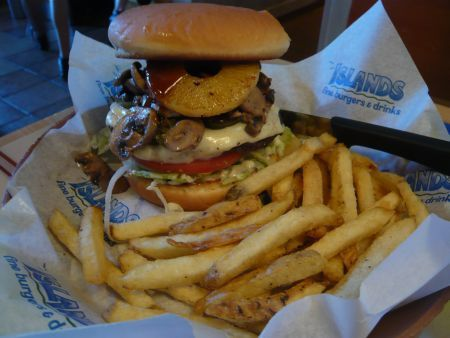 Favorite Burger- Islands Restaurant - Restaurants - 1380 Bison Ave, Newport Beach, CA, United States