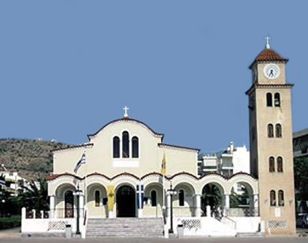 Agios Nikolaos Church - Ceremony Sites - Artemidos, Zamanou, Glyfada, 16674, Greece