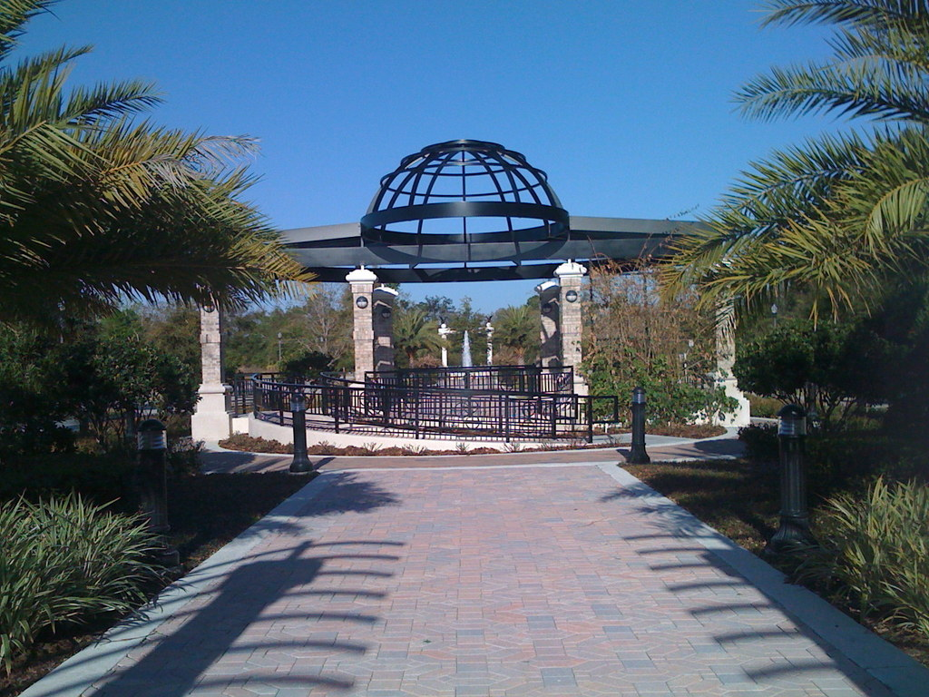 Magnolia Square Garden Walkway - Ceremony Sites -