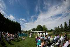 Frankenmuth Rose Garden - Ceremony - 624 E Tuscola Rd, Frankenmuth, MI, 48734