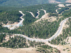 Pikes Peak Highway - Attraction - Cascade, Colorado, US