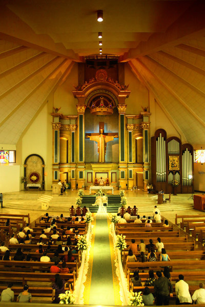 Christ The King Church - Ceremony Sites - Ugong Norte, Green Meadows Avenue, Quezon City, Metro Manila, Philippines