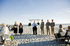 Tides Folly Beach - Ceremony - 1 Center St., Folly Beach, SC, 29439, USA