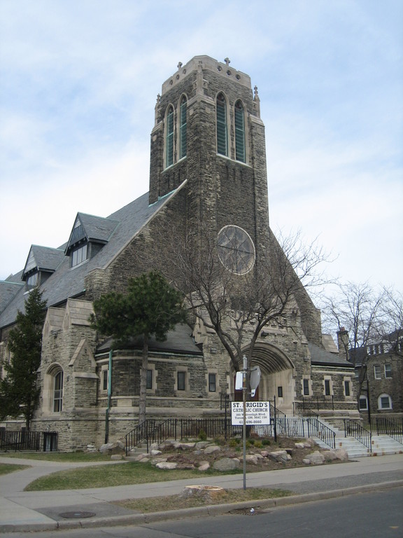 St. Brigid's Church - Ceremony Sites, Officiants - 300 Wolverleigh Blvd, Toronto, ON, M4C, CA