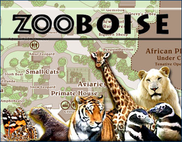 Zoo Boise - Attractions/Entertainment - 355 E Julia Davis Dr, Boise, ID, United States