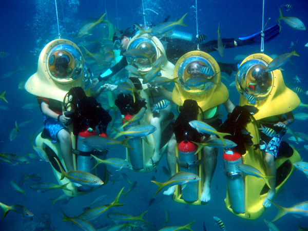Boss Underwater Adventure - Attractions/Entertainment - Crown Bay Marina, Yacht Haven Grande, Charlotte Amalie, St. Thomas, U.S.V.I.