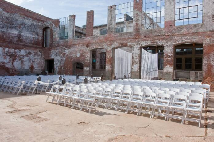 The Cotton Mill - Reception Sites, Ceremony Sites, Ceremony &amp; Reception - 610 Elm St, McKinney, TX, 75069