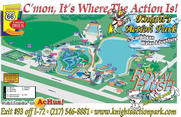 Knight's Action Park - Attractions/Entertainment - 1700 Recreation Drive, Springfield, IL, United States