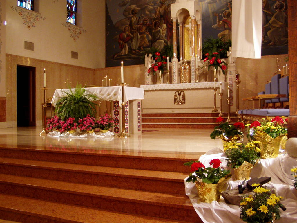 St. Mary's Church - Ceremony Sites - 15510 Holmes Avenue, Cleveland, OH, 44110