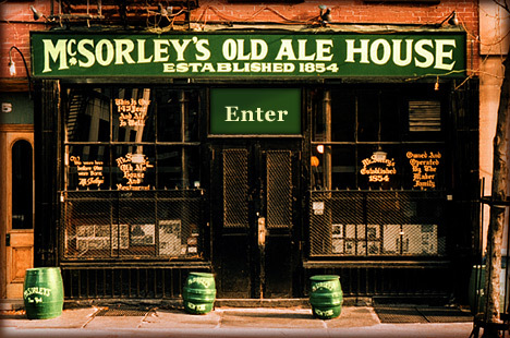 Mc Sorleys Old Ale House Inc - Restaurants, Bars/Nightife - New York, NY