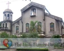 Holy Family Parish Church - Wedding Ceremony - CRM Avenue cor. CRM Dulce, Las Piñas, Philippines