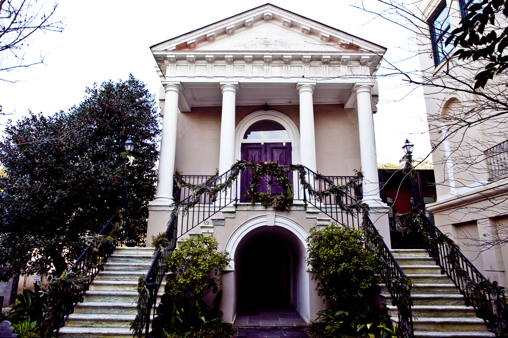 Circular Congregational Church - Ceremony Sites, Reception Sites - 150 Meeting Street, Charleston, South Carolina, United States