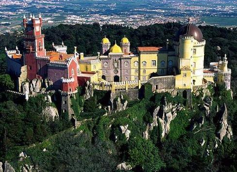 Pena National Palace - Attractions/Entertainment - Largo Rainha Dona Amlia, Sintra, Lisboa, Portugal