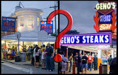 Pat's or Geno's? - Restaurant - S 9th St &amp; E Passyunk Ave, Philadelphia, PA, 19147