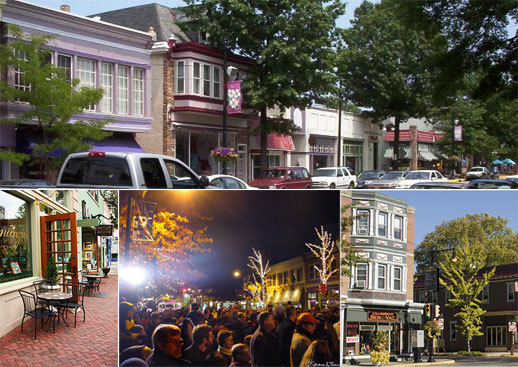 Downtown Collingswood - Attractions/Entertainment - Haddon Ave & Collings Ave, Collingswood, NJ, 08108