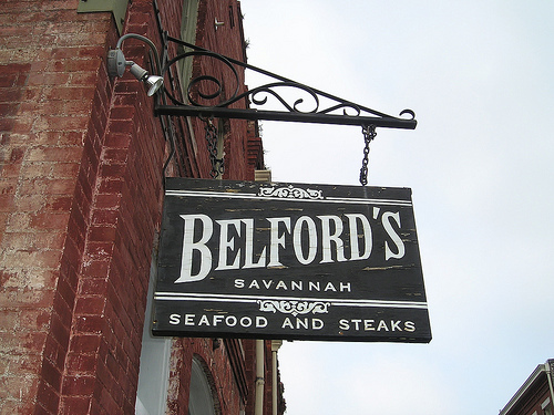 Belford's Savannah Seafood & Steaks - Restaurants - 315 West St. Julian Street, Chatham County, GA, 31401, US