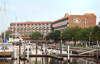 Hilton New Bern / Riverfront - Reception Sites, Hotels/Accommodations, Ceremony Sites - 100 Middle St, New Bern, NC, 28560