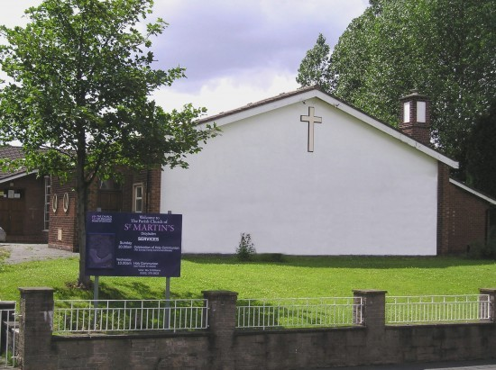 St Martin's Church - Ceremony Sites - St Martin's Close, Ashton-under-Lyne, Tameside, M43 7