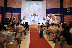 Alabang Village Wedding In December in Las Pinas, Philippines